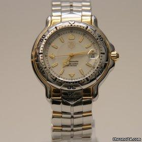 tag heuer serie 1000 oro